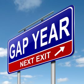 Gap year – it's not just for the young
